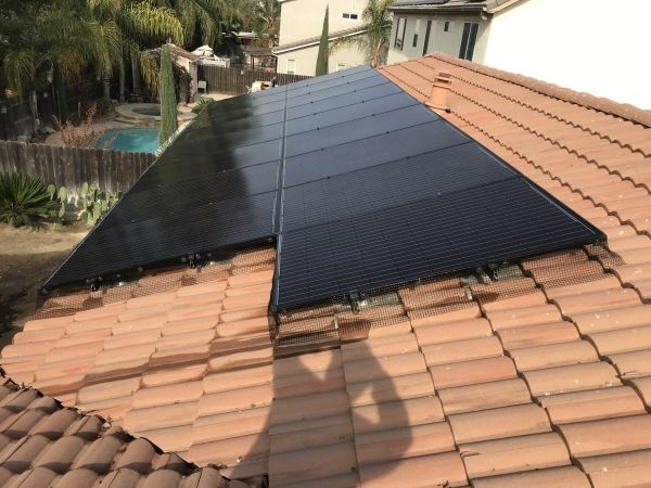 After Solar Panel Maintenance